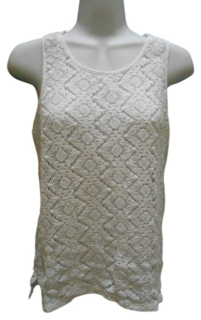 Preload https://item3.tradesy.com/images/white-pure-cotton-lace-8-medium-tank-topcami-size-10-m-2899792-0-0.jpg?width=400&height=650