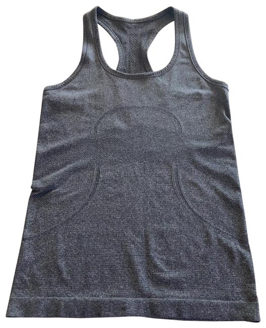 Item - Grey Swiftly Tech Tank Activewear Top Size 4 (S)