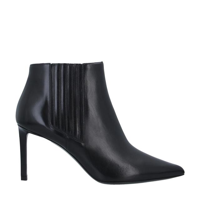 Item - Black Chelsea Cropped Leather Boots/Booties Size EU 38 (Approx. US 8) Regular (M, B)