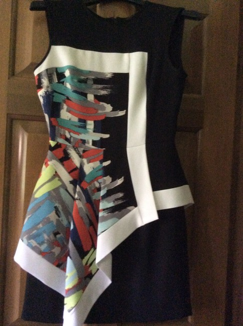 Item - Multicolor Short Cocktail Dress Size 4 (S)