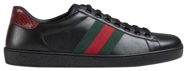 Item - Red Green Black Low Ace Sneakers Size US 6.5 Regular (M, B)