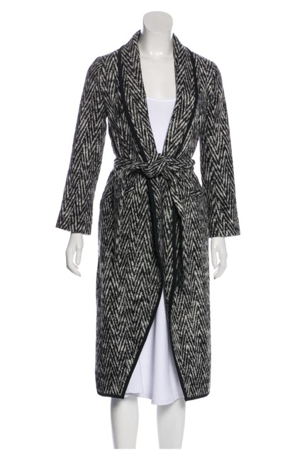 Item - Black and White From Her Fall 2015 Collection Coat Size 4 (S)