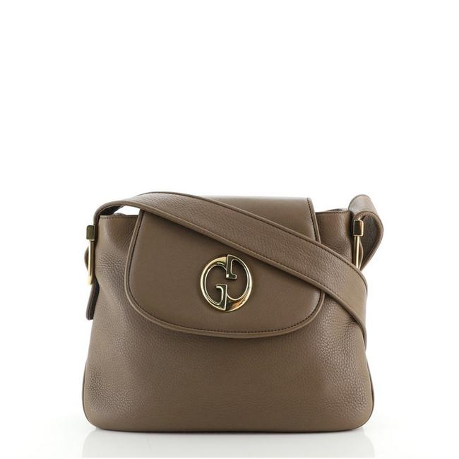 Item - 1973 Medium Brown Leather Shoulder Bag