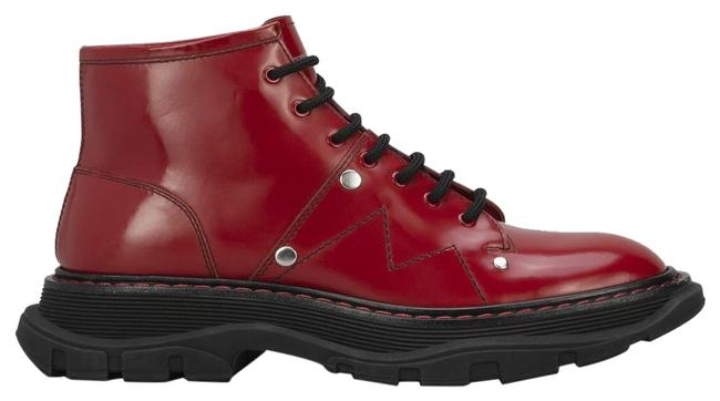 Item - Red Exaggeratesole Leather Boots Platforms Size EU 36 (Approx. US 6) Regular (M, B)