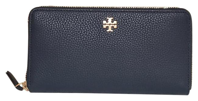 Item - Royal Navy Blue Clutch Carter Continental Leather Zip Around 67322 Wallet