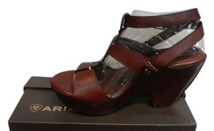 Ariat Summer Sandal Fun Western cognac Platforms