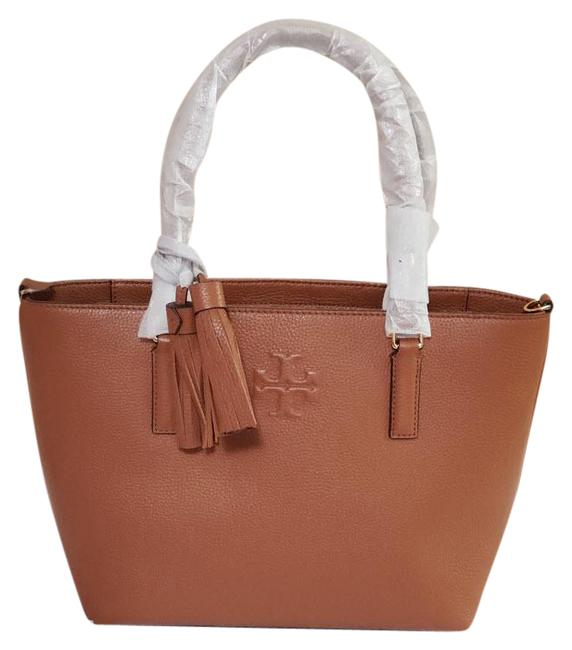 Item - Thea Small Convertible Lp Brown Leather Tote