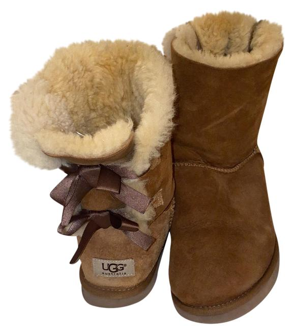 Item - Chestnut Bailey Bow 2 Boots/Booties Size US 9 Regular (M, B)