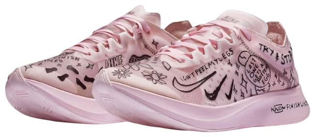 Item - Pink Nathan Bell X Zoom Fly Sneakers Size US 9 Regular (M, B)
