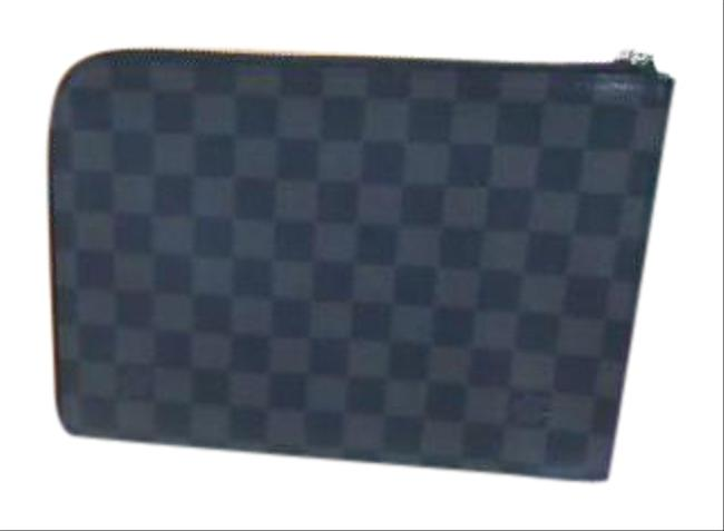 Item - Graffiti Pochette Jules Pm N60113 Damier Graphite Clutch