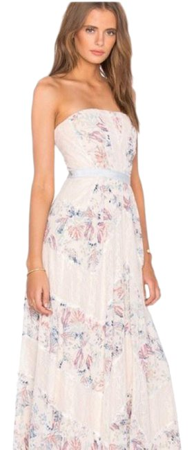 Item - Pink Elle Strapless Gown Long Formal Dress Size 0 (XS)