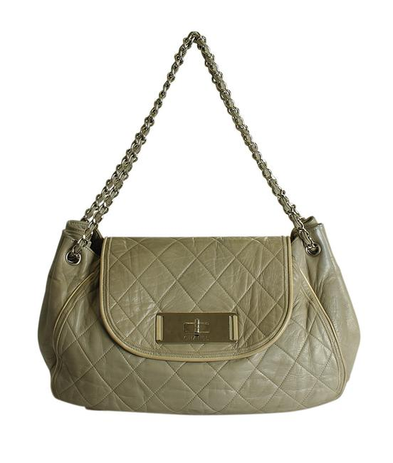 Item - 2.55 Reissue Accordion Quilted (196843) Grey Leather Shoulder Bag