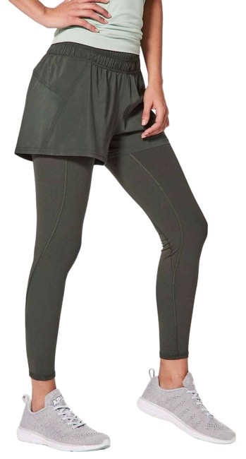 Item - Green Double Or Nothing Pant Evergreen Activewear Bottoms Size 10 (M, 31)