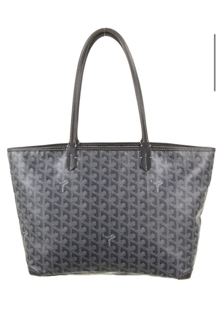 Item - St. Louis Pm Coated Grey Canvas Tote
