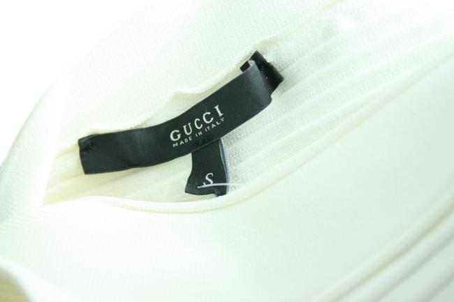 Gucci White Mid-length Cocktail Dress Size 4 (S) Gucci White Mid-length Cocktail Dress Size 4 (S) Image 3