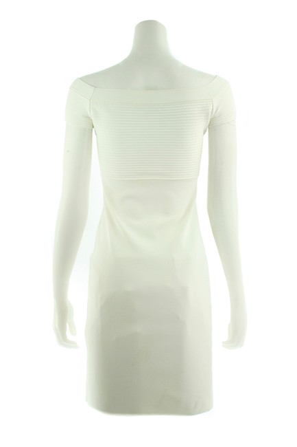 Gucci White Mid-length Cocktail Dress Size 4 (S) Gucci White Mid-length Cocktail Dress Size 4 (S) Image 4