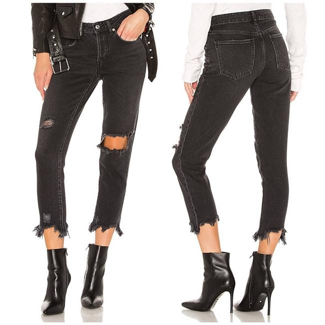 Item - Black Dark Rinse Good Times Relaxed Skinny Jeans Size 26 (2, XS)