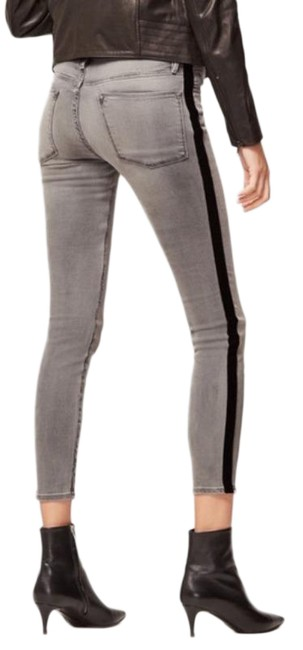 Item - Gray Distressed Le High Skinny Jeans Size 26 (2, XS)