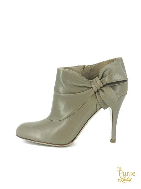 Item - Gray Leather #34388 Boots/Booties Size EU 37 (Approx. US 7) Regular (M, B)