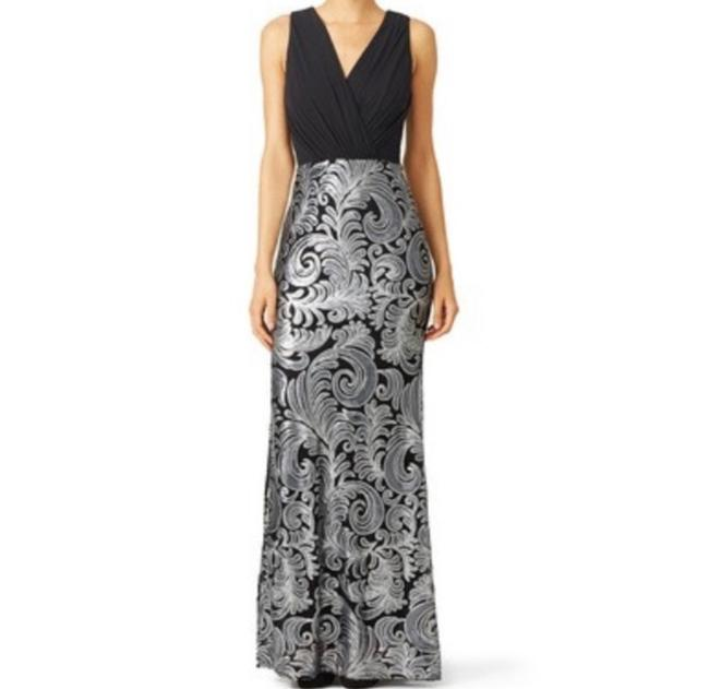 Item - Silver Stream Gown Long Formal Dress Size 2 (XS)