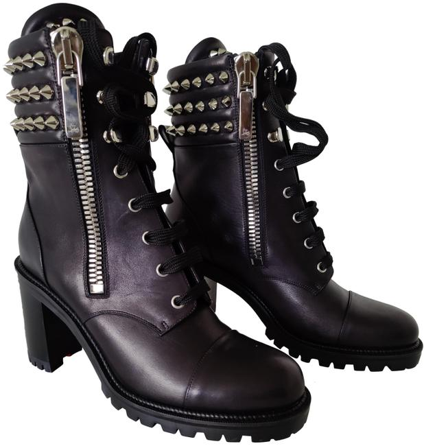 Item - Black Winter Spikes 70 Leather Boots/Booties Size EU 39.5 (Approx. US 9.5) Regular (M, B)