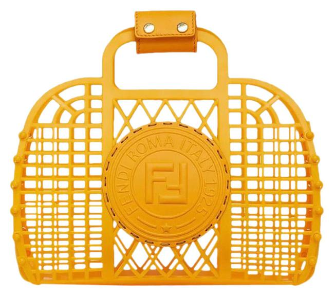 Item - Basket Small Orange Recycled Plastic Baguette