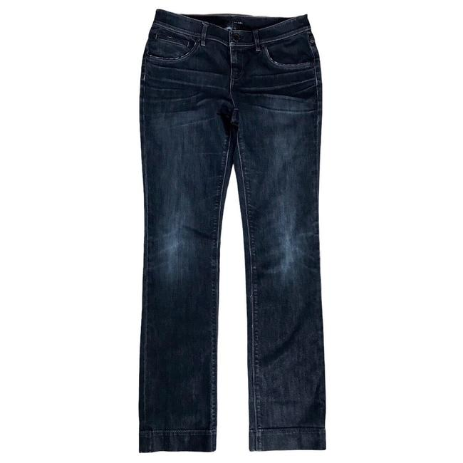Item - Black Distressed Adena Classic Mid Rise Straight Denim Relaxed Fit Jeans Size 6 (S, 28)