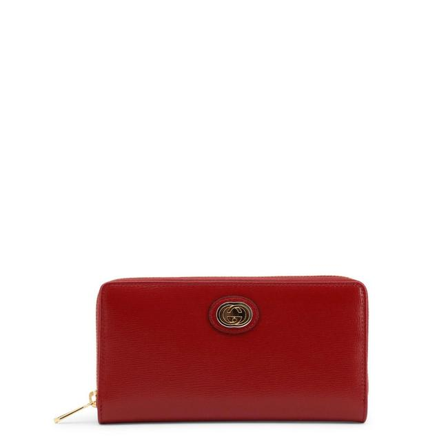 Item - Red Around Leather Wallet