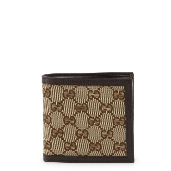 Item - Beige/Ebony Bifold with Coin Pouch Gg Supreme In Canvas Wallet