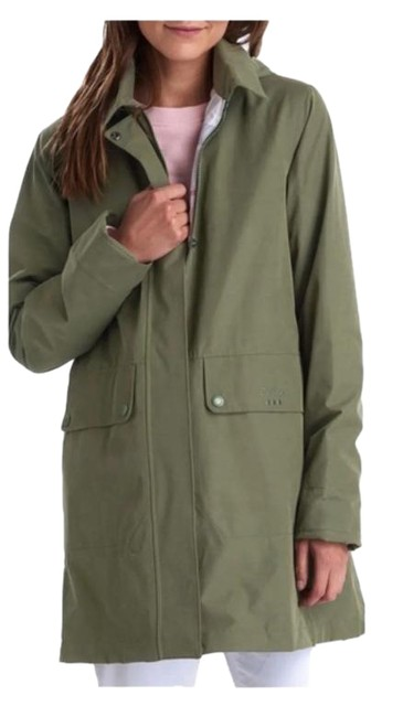 Item - Green Tan Outflow Coat Size 14 (L)