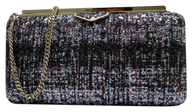 Item - Ellipse 2way Mini Handbag Party Glitter Multi-color Leather Clutch