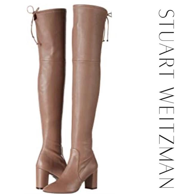 Item - Taupe Zuzanna Over The Knee Boots*new Boots/Booties Size US 8.5 Regular (M, B)