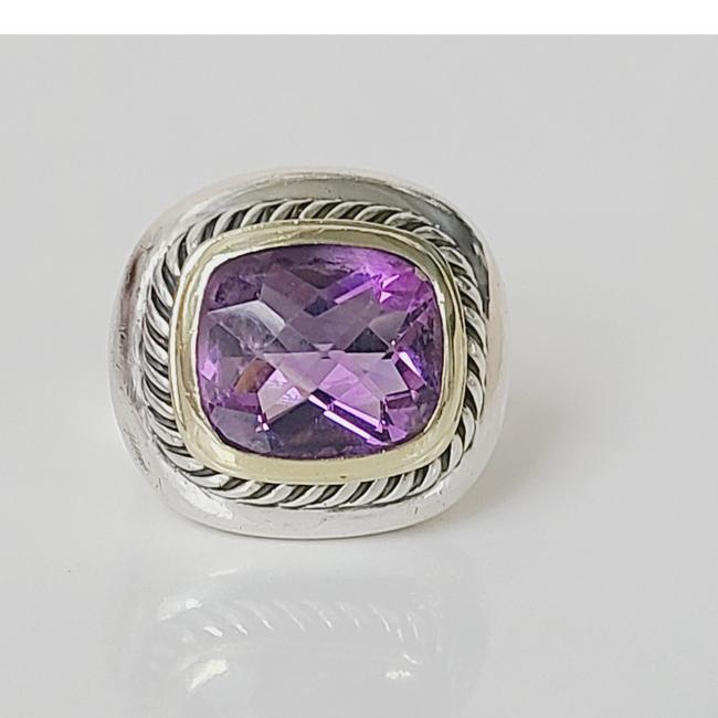 Item - David yurman large albion amethyst ring with Gold Ring