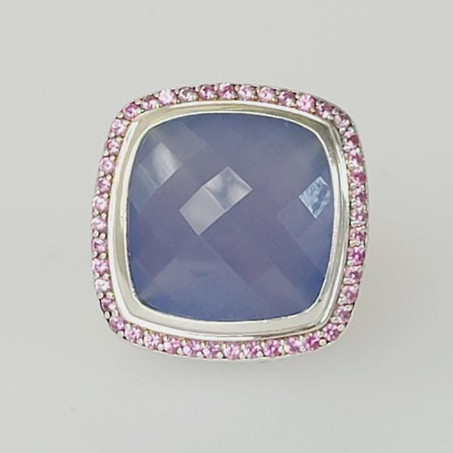 Item - David yurman limited Edition albion 20mm chalcedony pink Sapphire Ring