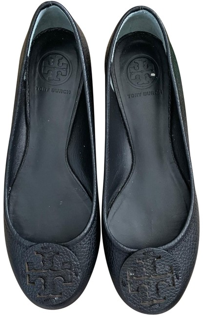 Item - Black Reva Ballet Flats Size US 7 Regular (M, B)