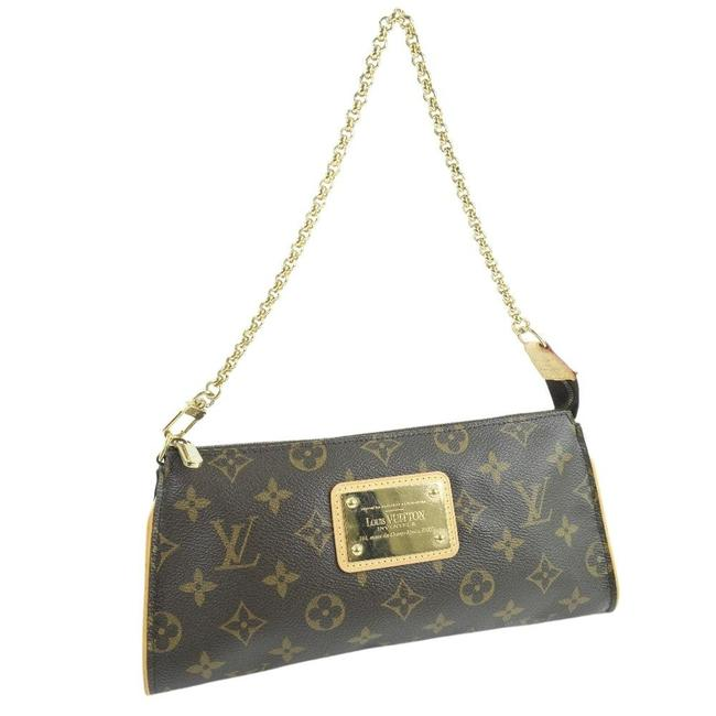 Item - Pochette Eva Canvas Du1016 Ladies Handbag Brown Monogram Clutch