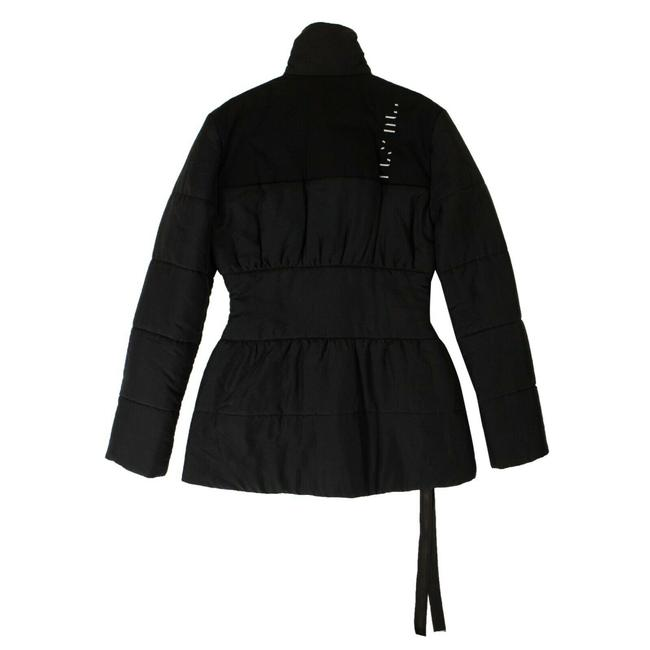 Item - Black Paneled Puffer Activewear Outerwear Size 4 (S)