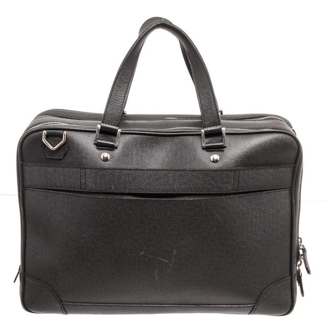 Item - Briefcase Gray Taïga Leather Weekend/Travel Bag