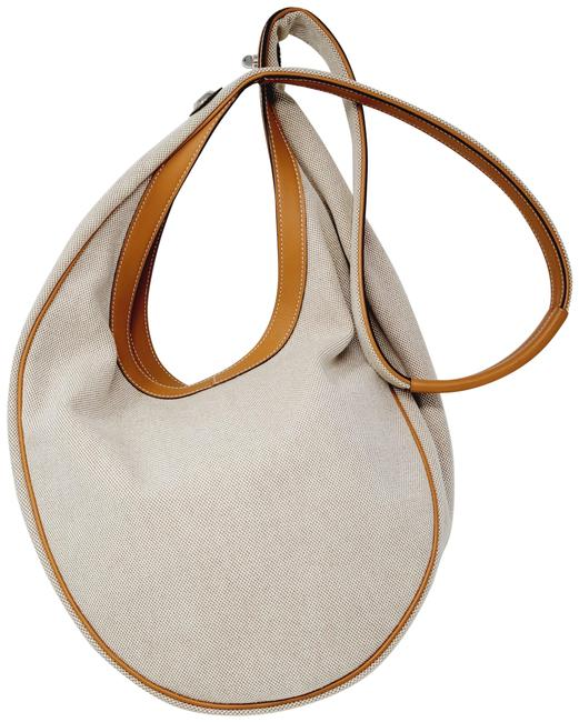 Item - Luco Sac With Natural Camel Canvas Leather Hobo Bag