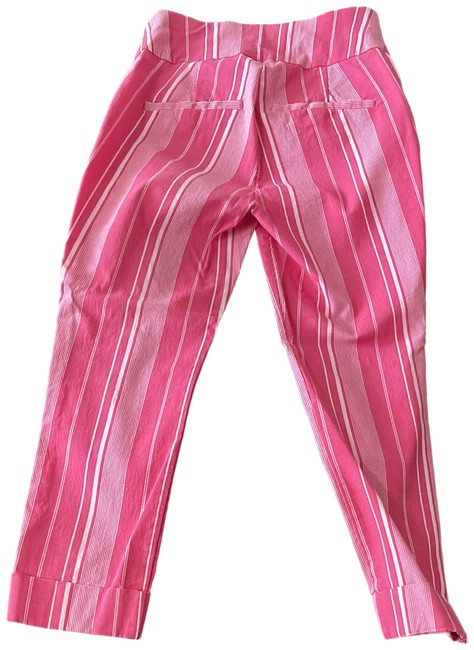 Item - Pink and White Capris Size 4 (S, 27)