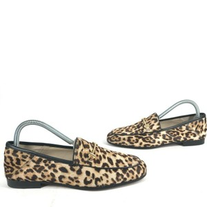 Sam Edelman Sophisticated Neutral Everyday Animal Print Chic Brown Flats