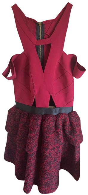 Item - Red Short Night Out Dress Size 2 (XS)