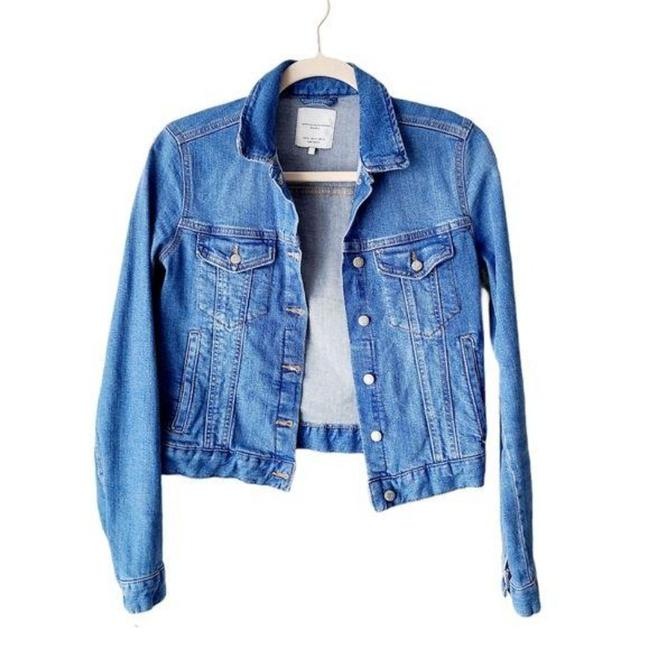 Item - Blue Saturated Jacket Size 6 (S)