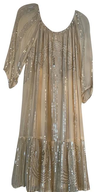 Item - Sequin Mid-length Night Out Dress Size 12 (L)