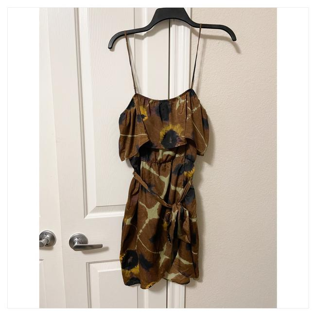 Item - Belted Short Casual Dress Size 8 (M)