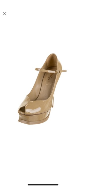 Item - Neutral Yves Patent Leather Pumps Size US 6.5 Regular (M, B)