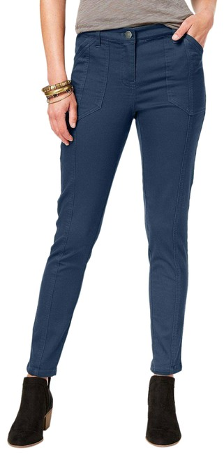 Item - New Uniform Blue Stretchy Pants Size 14 (L, 34)