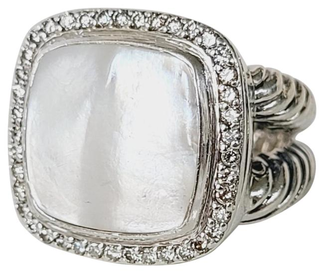 Item - David yurman albion 14mm mother Of pearl diamond ring Ring