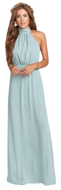 Item - Green XS Nwot Collette Collar Silver Sage Long Formal Dress Size 2 (XS)