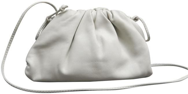Item - Pouch 20 White Calfskin Leather Clutch
